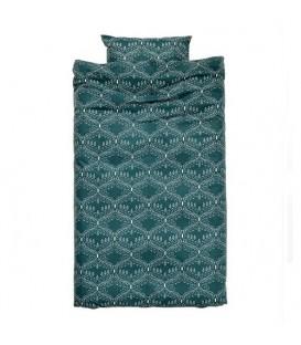 ست کاور 1 نفره سبز یشمی H&M