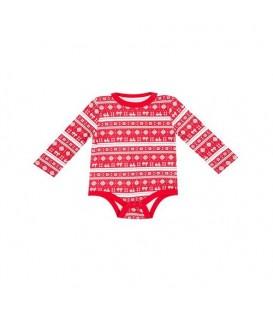 بادی نخی نوزادی پسرانه قرمز Joe Fresh