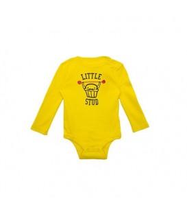 بادی نخی نوزادی پسرانه زرد Joe Fresh
