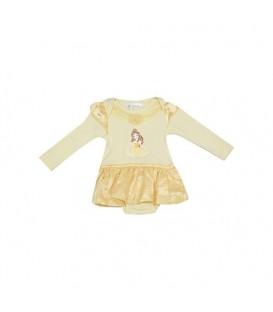 بادی نوزادی دخترانه زرد F&F