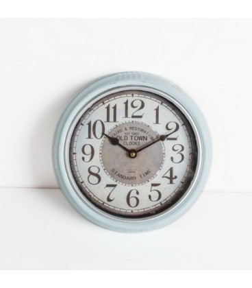 ساعت ديواري فلزي گرد كوچك کد 127