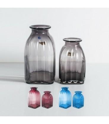 گلدان شیشه ایی در سایز کوچک کد 165