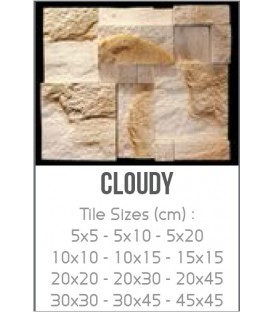 cloudy سنگ تزیینی