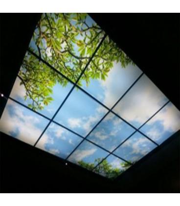 پنل اسمان مجازی سقفی تایل های pvc