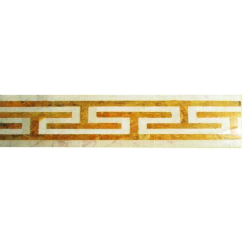 حاشیه و نوار طولی ورساچ طلایی