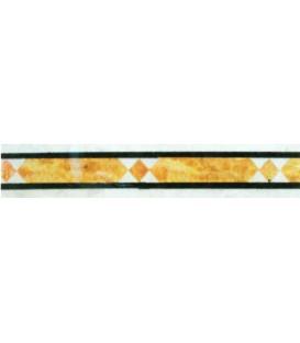 حاشیه و نوار طولی مدل لوزی