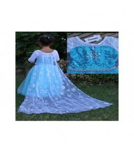ست لباس السا دخترانه کد p89084352