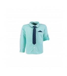 پیراهن با کراوات پسرانه کد 7Y4504Z4