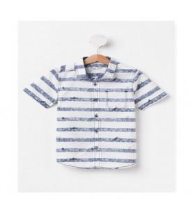 پیراهن پسرانه آستین کوتاه کد E9458A4Z16SPWT34