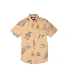 پیراهن آستین کوتاه مردانه شتری Top Secret