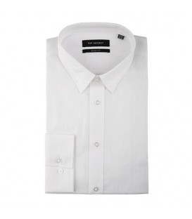 پیراهن مردانه سفید Top Secret