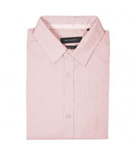پیراهن مجلسی راهراه مردانه صورتی Top Secret
