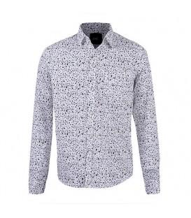 پیراهن مردانه فیلی سرمهای Marks & Spencer