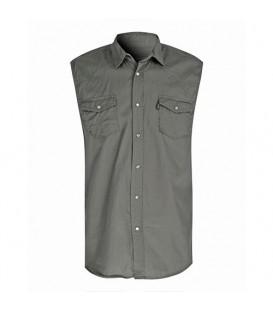 پیراهن آستین حلقهای مردانه سبز Terranova