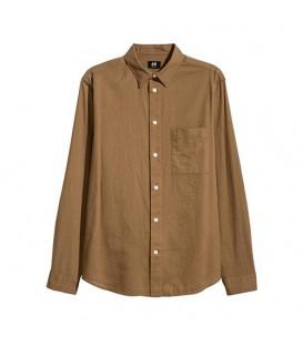 پیراهن مردانه قهوهای H& M