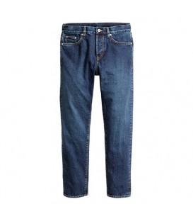 شلوار مردانه جین آبی تیره H&M