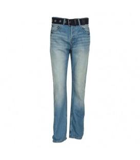 شلوار جین دمپا گشاد مردانه آبی F&F