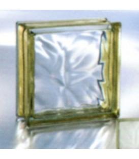 بلوک شیشه ای gold outline