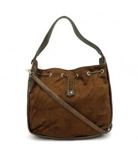 کیف دوشی زنانه قهوه ای David Jones کد38
