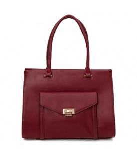 کیف دستی زنانه زرشکی David jones کد46