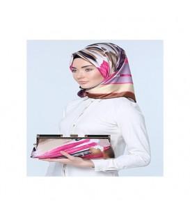 ست کیف و روسری طرحدار زنانه کد7