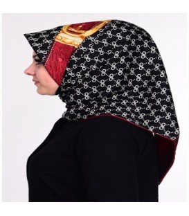 روسری طرحدار زنانه کد14