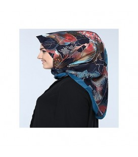 روسری طرحدار زنانه کد34