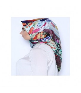 روسری طرحدار زنانه کد42