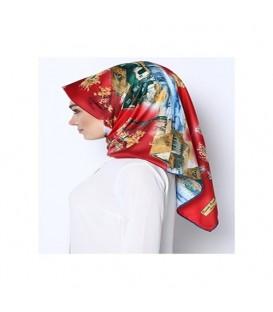 روسری طرحدار زنانه کد43