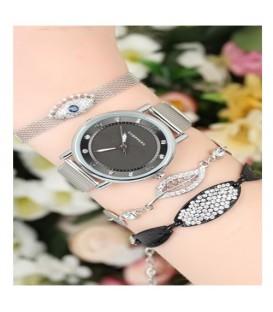 ست ساعت و دستبند زنانه کد BSK5649