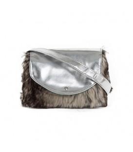کیف دوشی دخترانه خز دار مدل AG2523